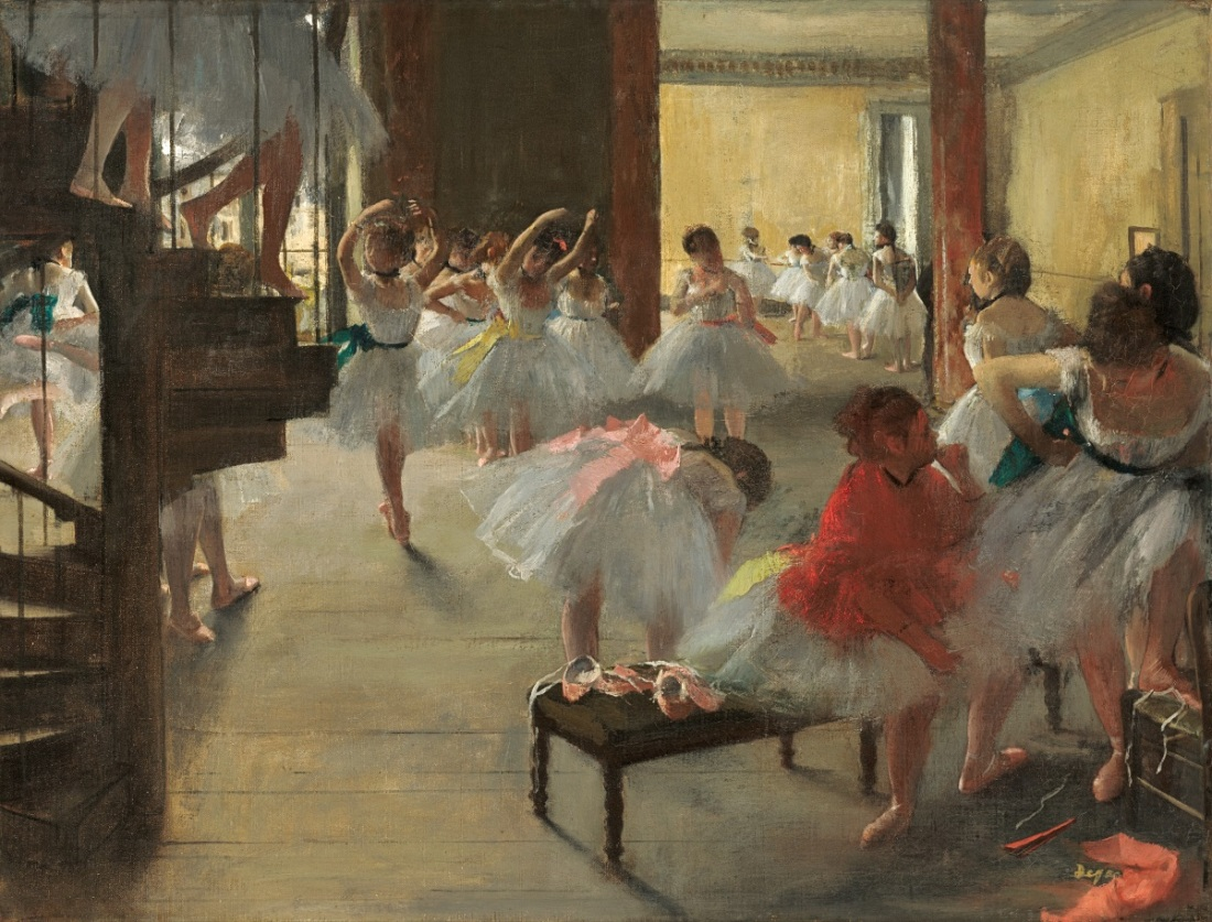 Edgar Degas, The Dance Class, c. 1873.