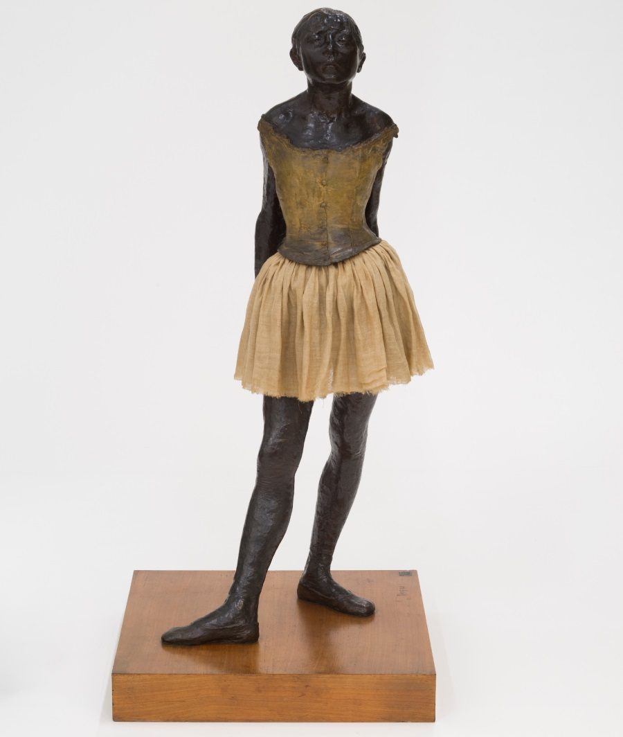 Edgar Degas, The Little Fourteen-Year-Old Dancer, 1879-81.