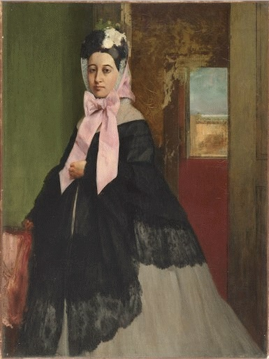 Edgar Degas, Therese De Gas, 1863.