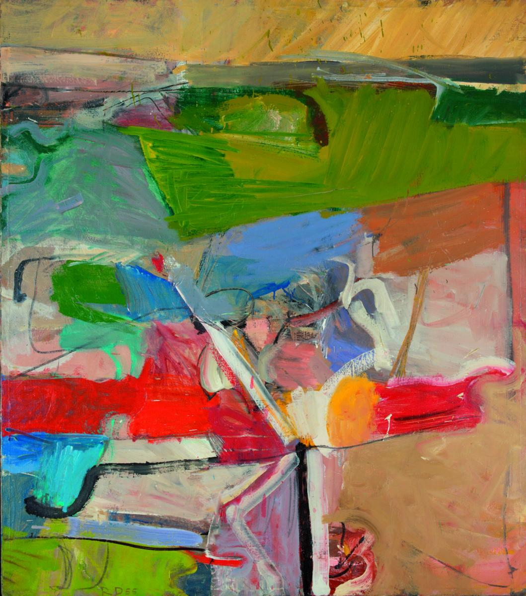 Richard DIebenkorn, Berkeley #23, 1955.