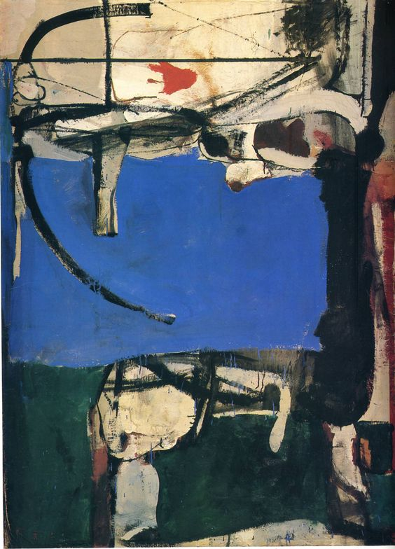Richard Diebenkorn, Urbana #2, The Archer, 1953.