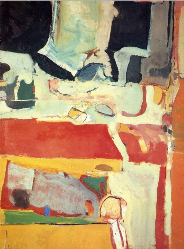 Richard Diebenkorn, Urbana #4, 1953.