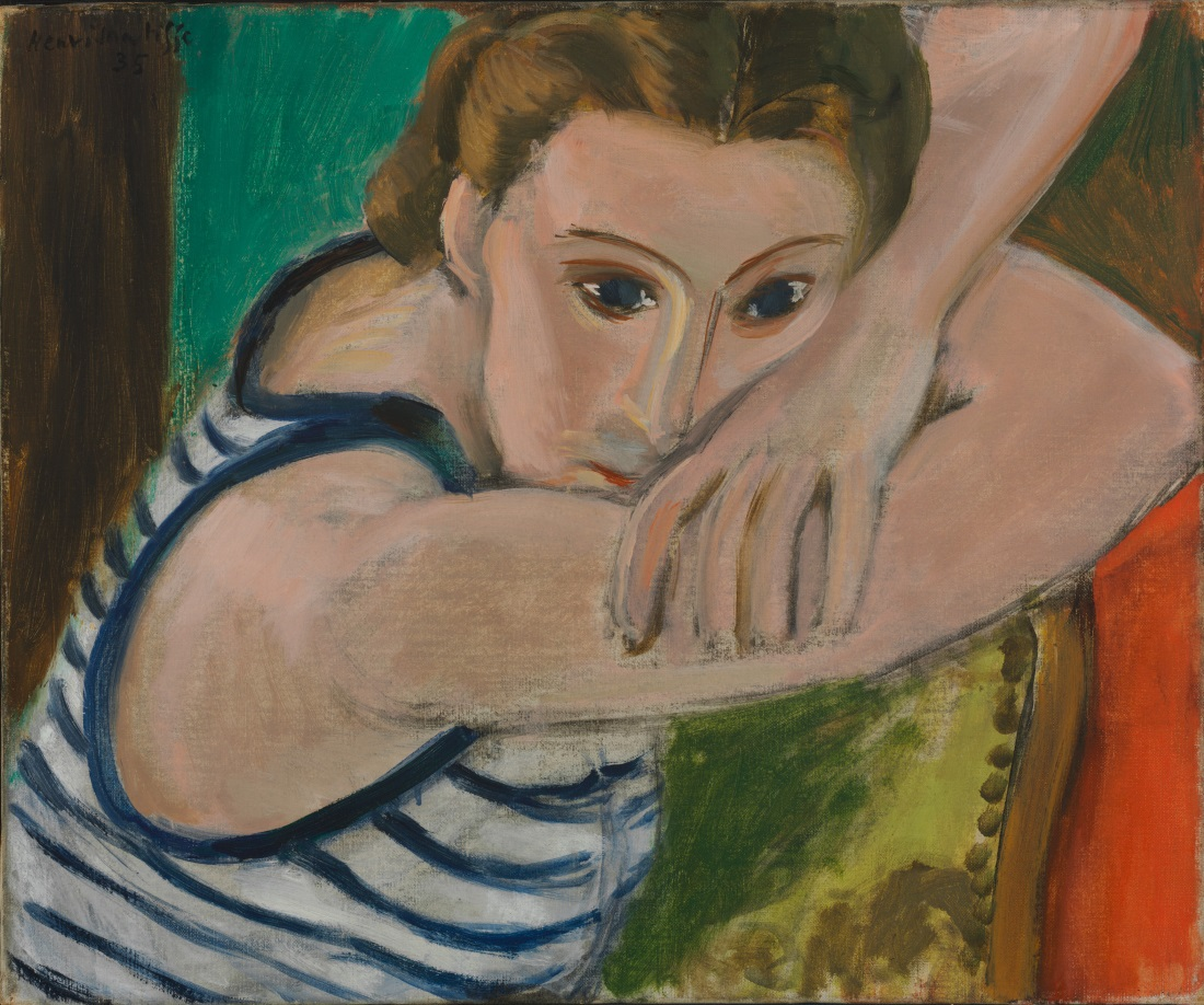 no matisse diebenkorn klimt s portraits the modern art  henri matisse blue eyes 1935