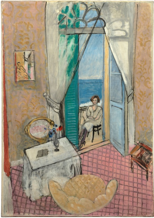 Henri Matisse, Interior at Nice, 1919 or 1920.