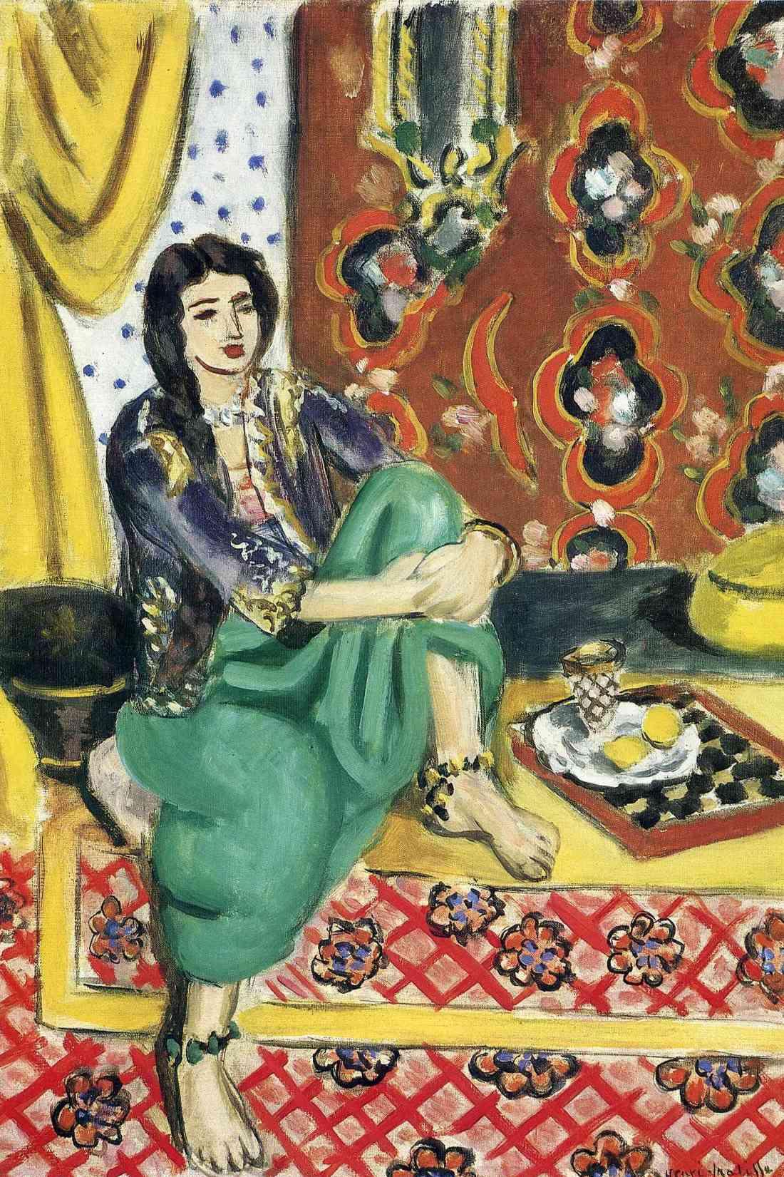 Henri Matisse, Seated Odalisque, 1928.