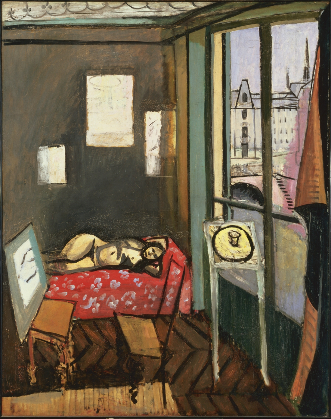 Henri Matisse, Studio Quai Saint-Michel, 1916.