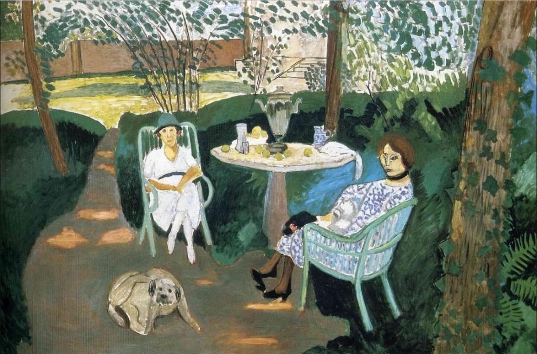 Henri Matisse, Tea, 1919.