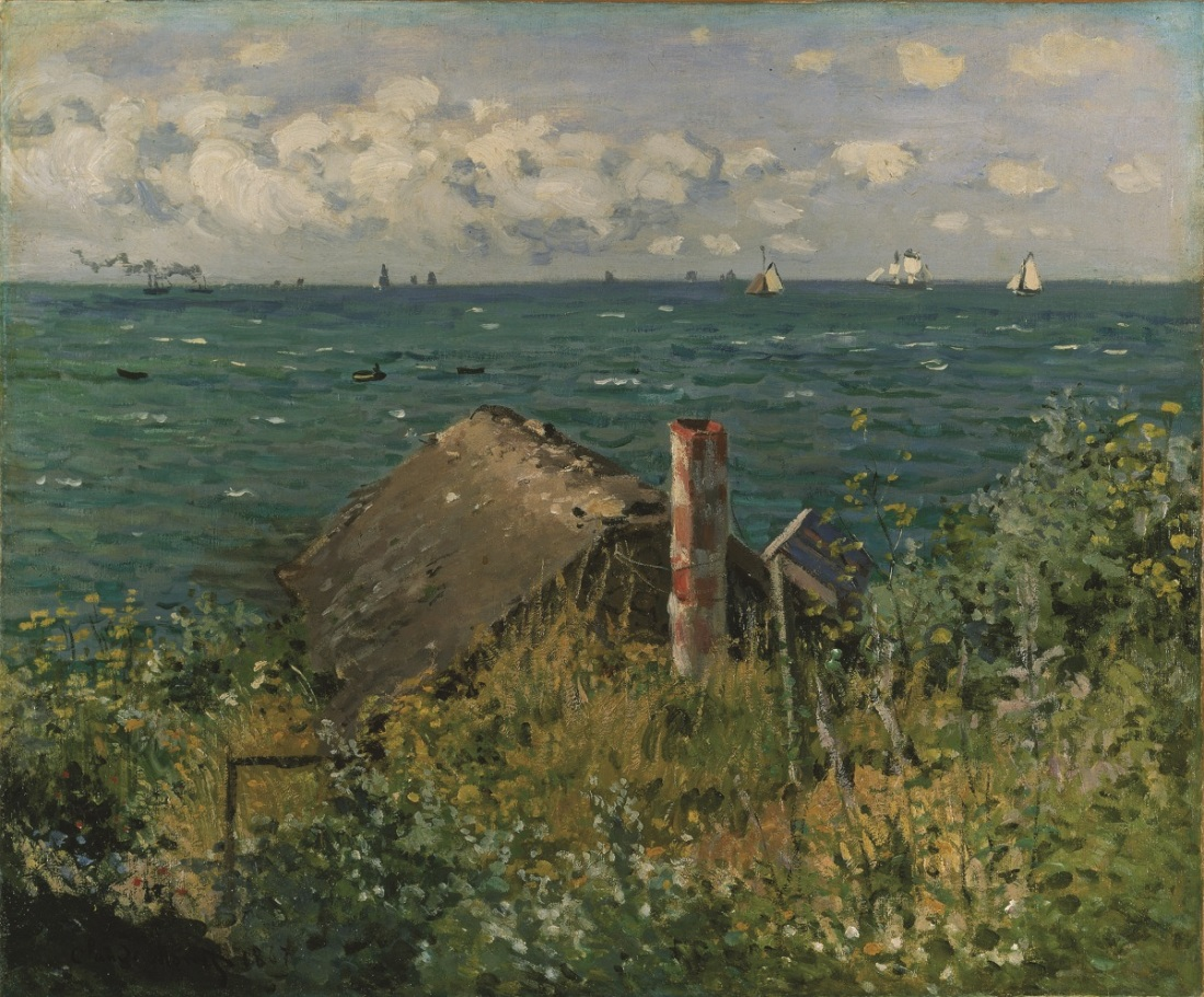 Claude Monet, A Hut at Sainte-Adresse, 1867.