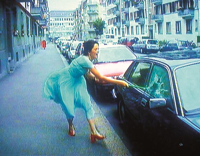 Pipilotti Rist, Ever Is Over All (still), 1997.