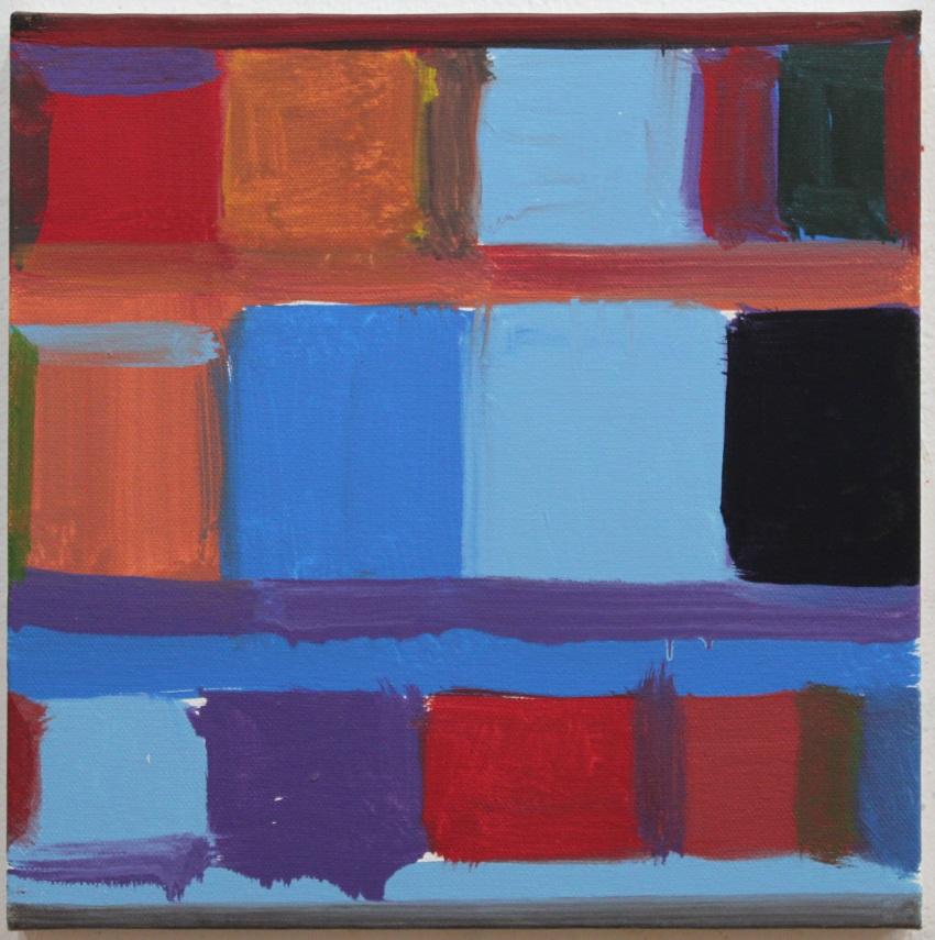 Stanley Whitney, Untitled, 2013.