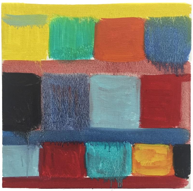Stanley Whitney, Untitled, 2015.