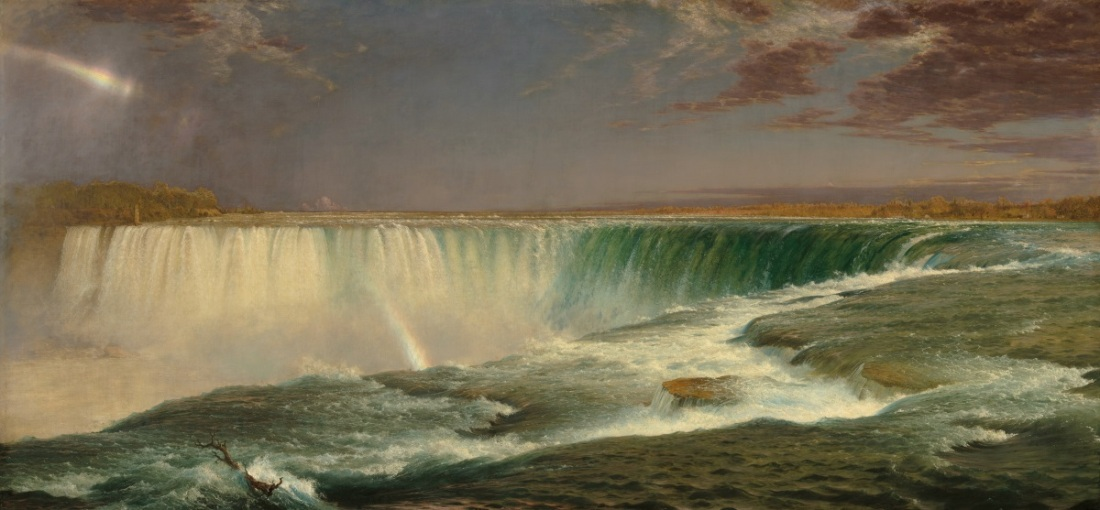 Frederic Church, Niagara Falls, 1857.
