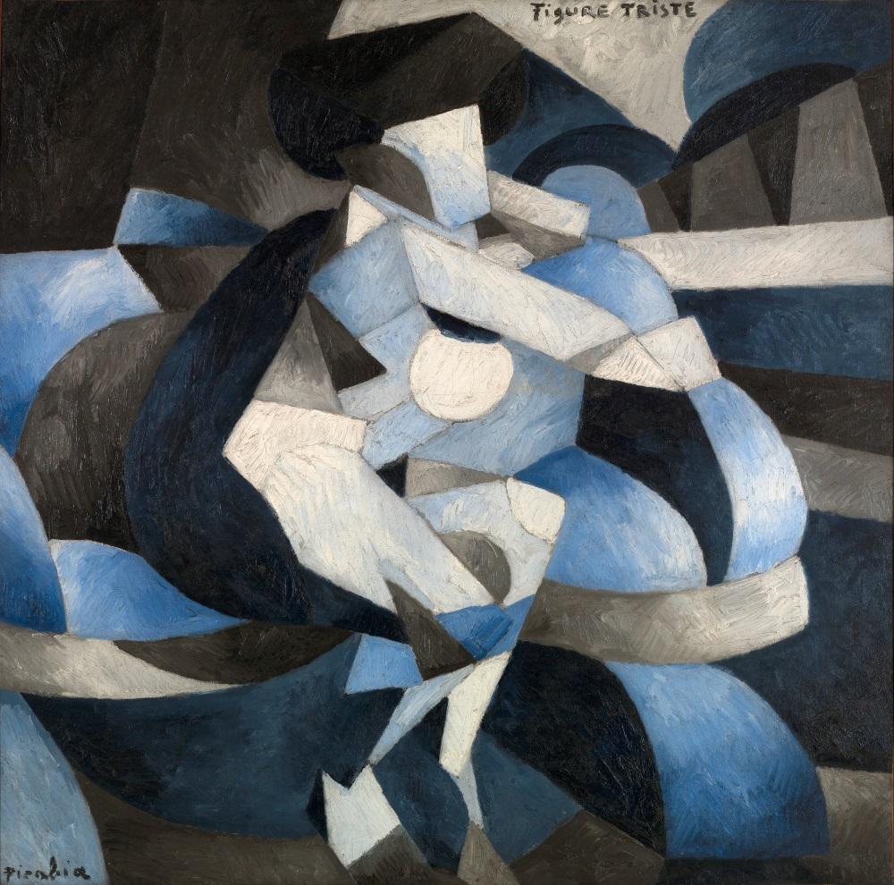 Francis Picabia, Figure Triste (Sad Visage), 1912.