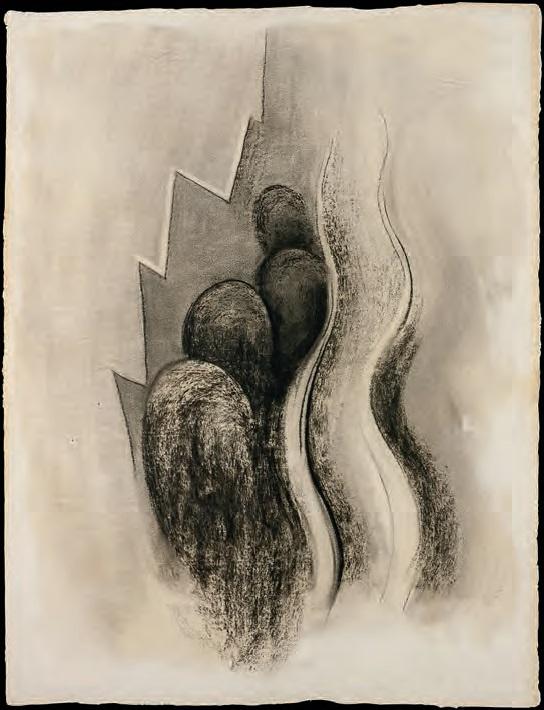 Georgia O'Keeffe, Drawing XIII, 1915.