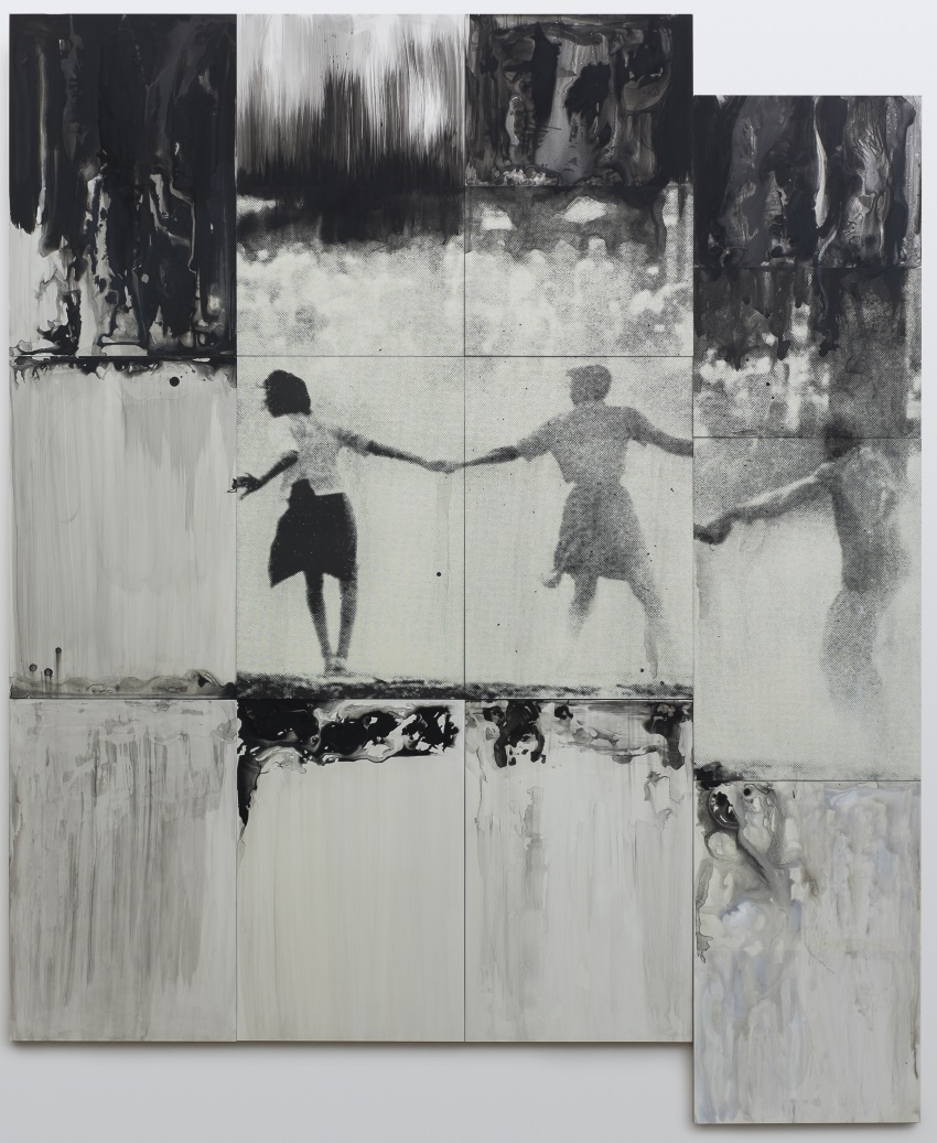Lorna Simpson, Three Figures, 2014.