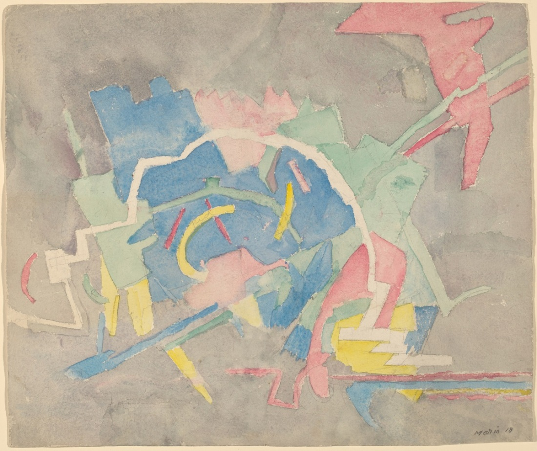 John Marin, Abstraction, 1917.