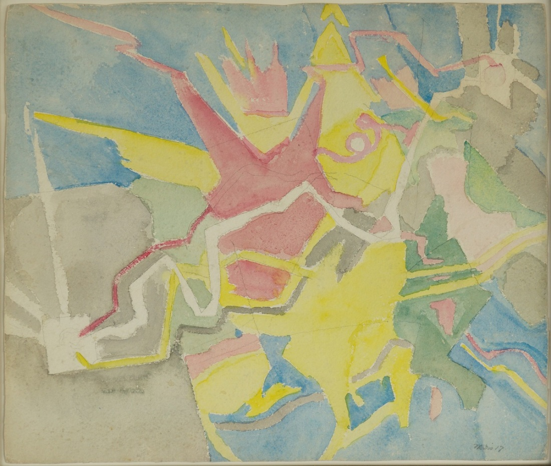 John Marin, Movement B, 1917.