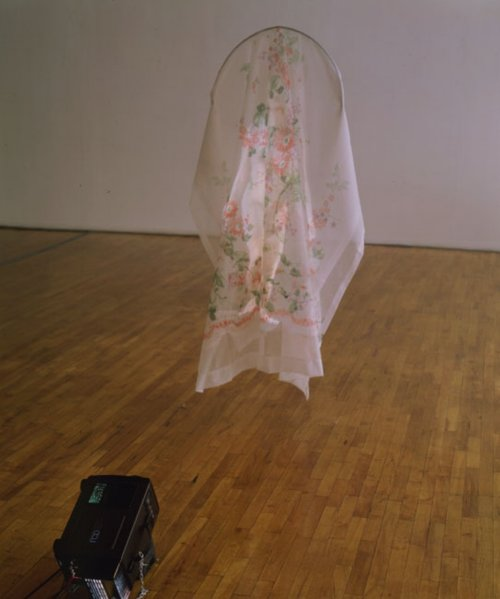 Tony Oursler, Shroud, 1994.