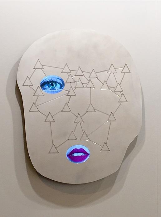 Tony Oursler, TRUKE, 2014.