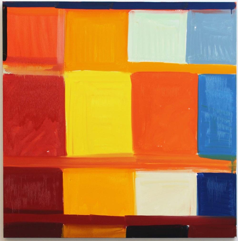 Stanley Whitney, Dance the Orange, 2008.