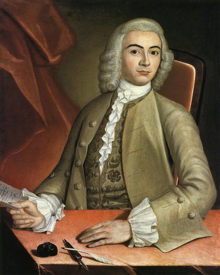 John Singleton Copley, Charles Pelham, c. 1753-54.