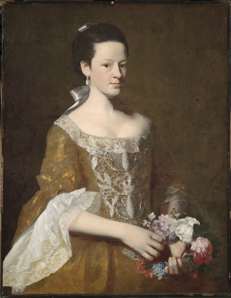 John Singleton Copley, Dorothy Murray, c. 1759-61.