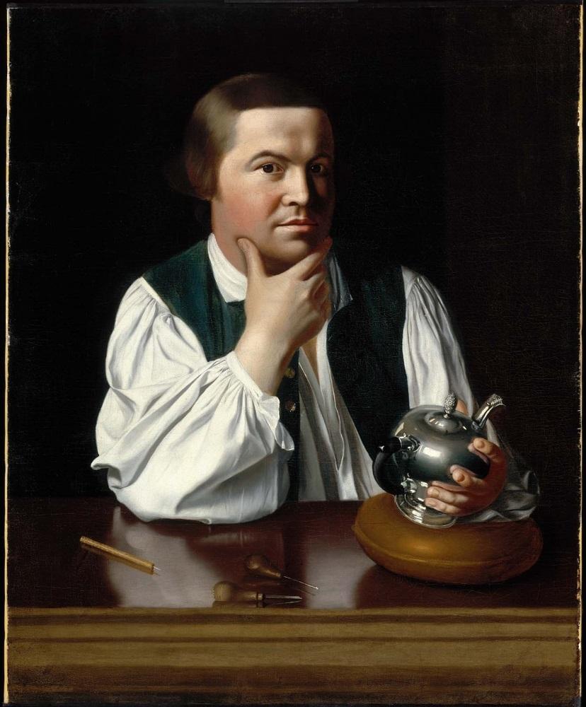 John Singleton Copley, Paul Revere, 1768.
