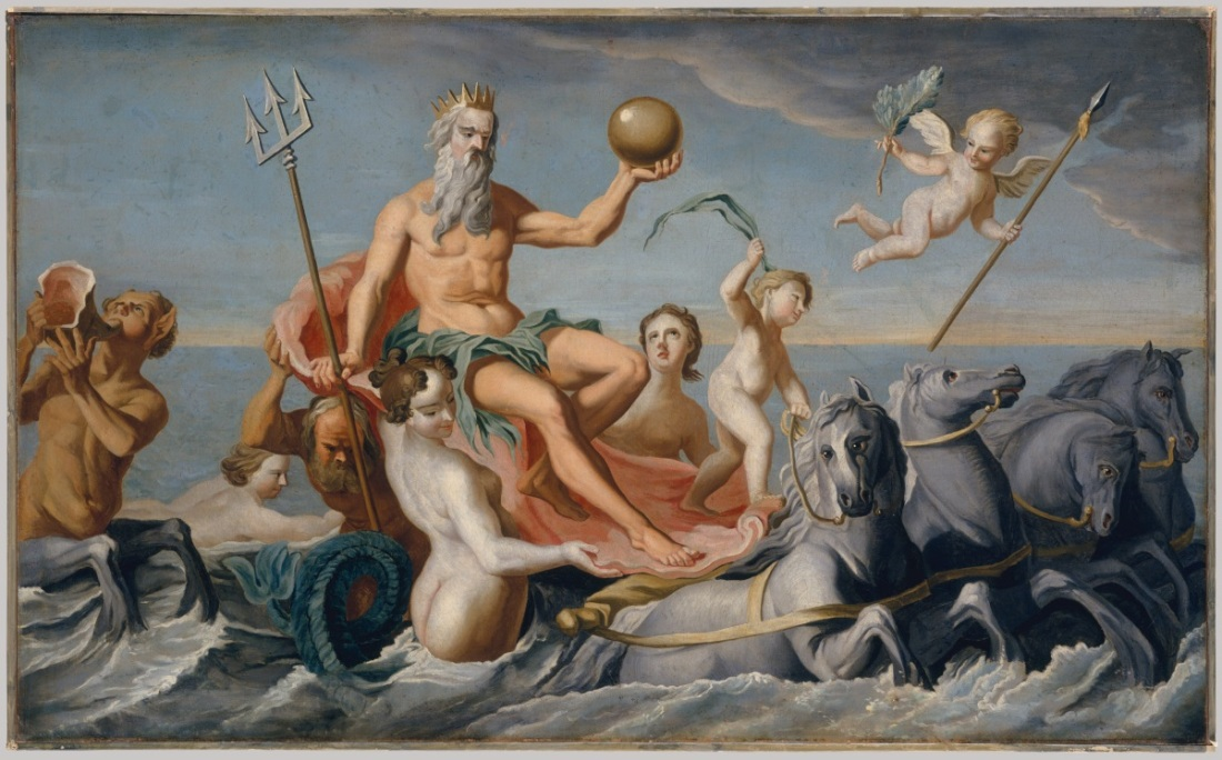 John Singleton Copley, The Return of Neptune, c. 1754.