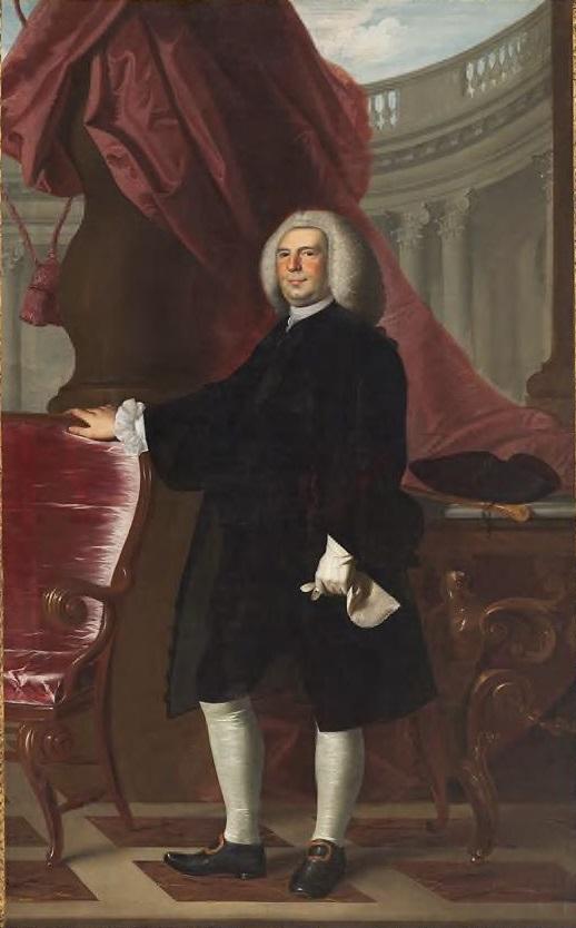 John Singleton Copley, Thomas Hancock, 1764-66.