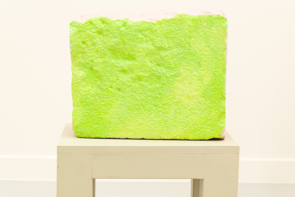 Jimmie Durham, A Stone Rejected by the Builder (1), 2006.