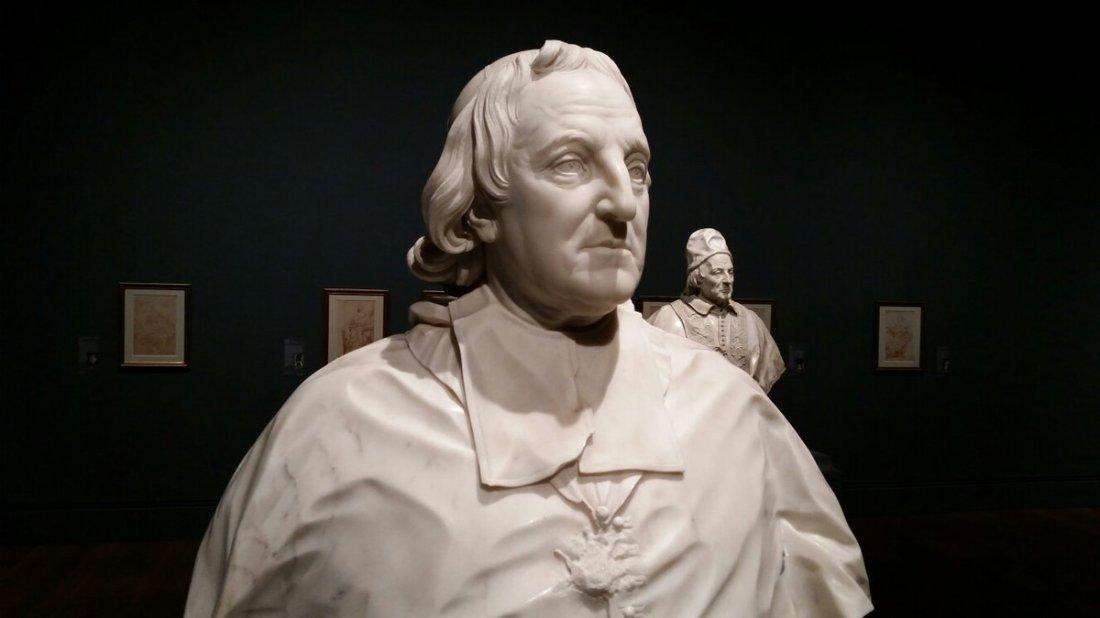 Edme Bouchardon, Cardinal Melchior de Polignac, 1731.