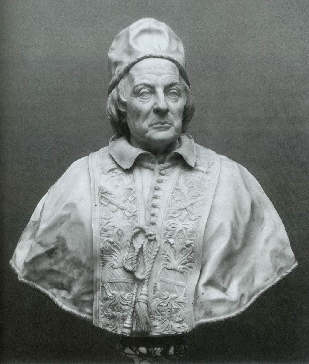 Edme Bouchardon, Clement XII Corsini, 1731.