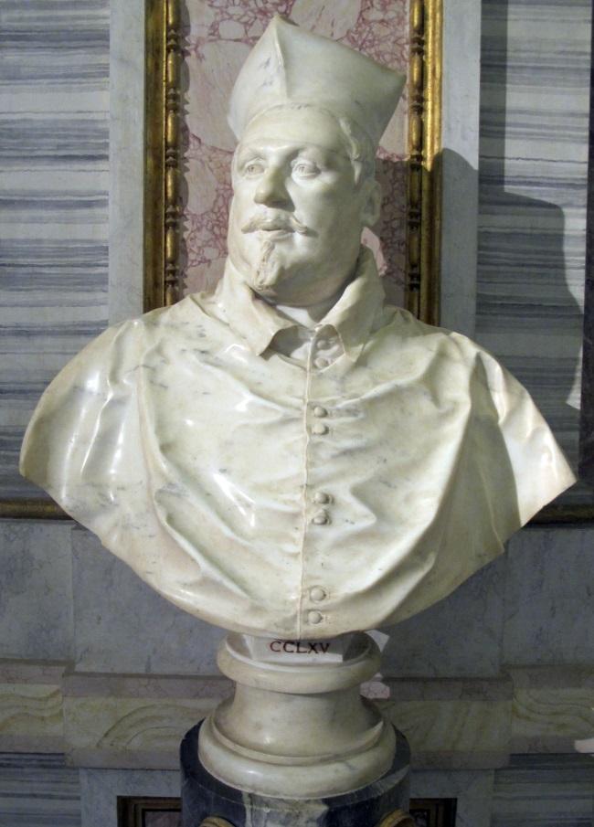 Gian Lorenzo Bernini, Cardinal Scipione Borghese, 1632.