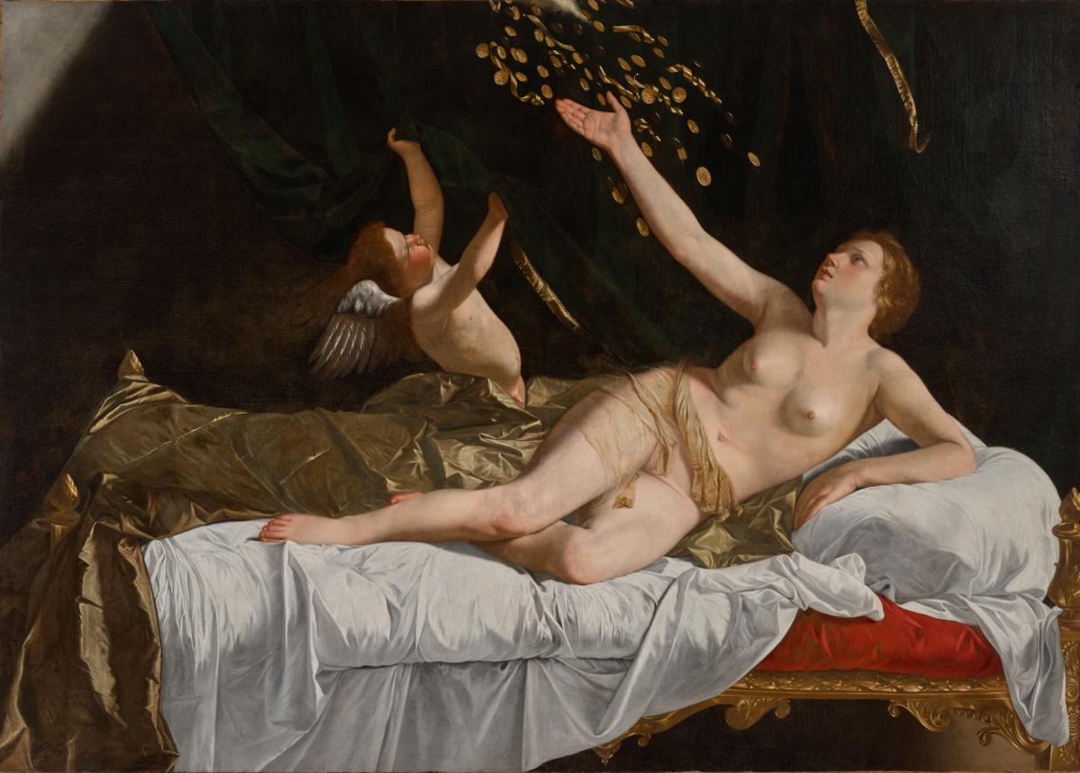Dorothea bär nackt